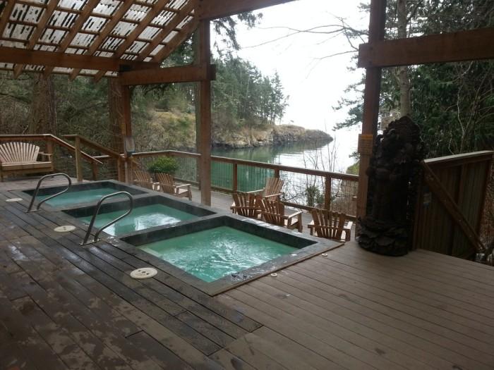 7. Doe Bay Hot Springs Resort