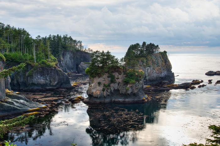 18. Check out the mystifying Cape Flattery.