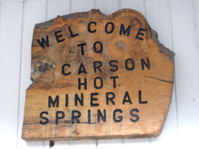 3. Carson Hot Mineral Springs