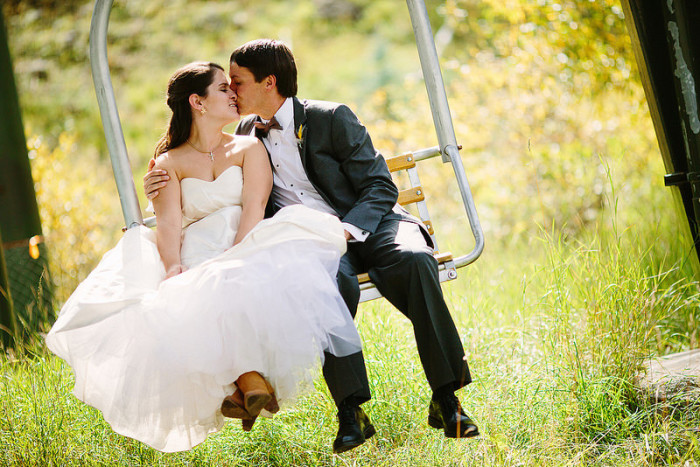 1.Spectacular wedding settings.
