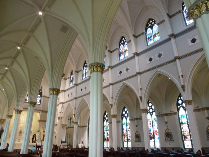 11. The Cathedral of St. John the Baptist - Charleston, SC
