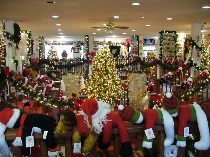 3. Seriously? It's not even Halloween and this store is filled with Christmas stuff. .... oh wait, this is a Christmas store. Whew!