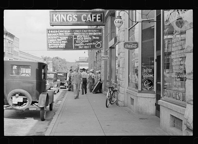 13. Downtown Clarksville 1935