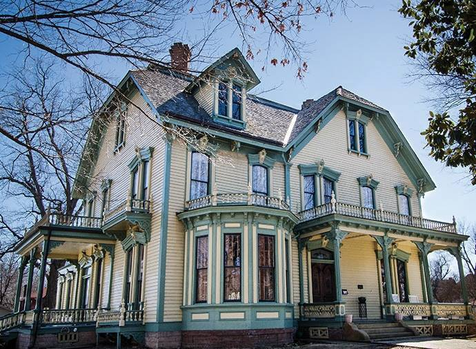 8. Instead of visiting the Museum of History in Ft. Smith, go to the Clayton House.