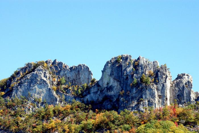 12. Climb Seneca Rocks.