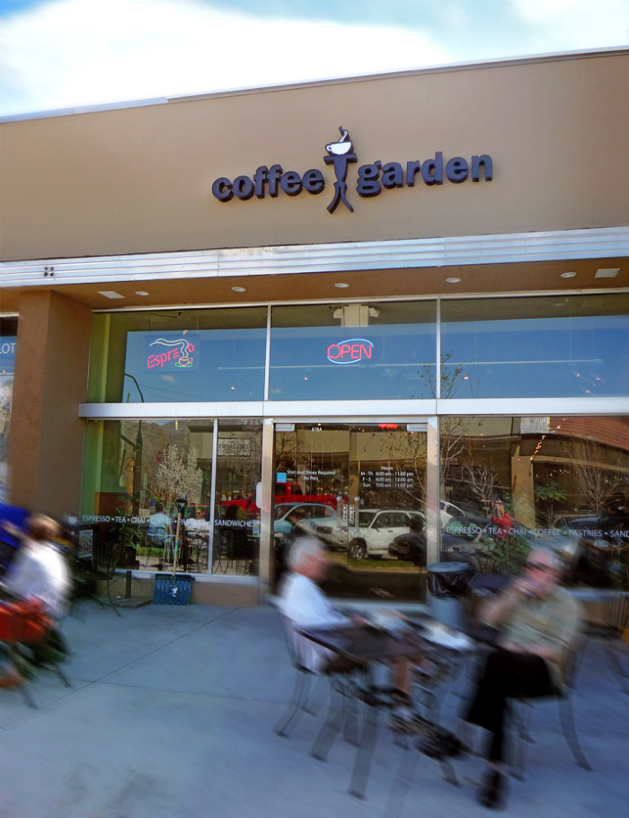 5. Coffee Garden, Salt Lake City