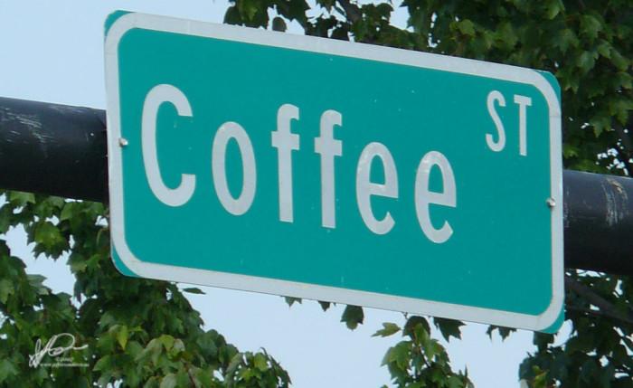 7. Coffee Street