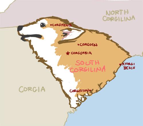 Judgemental Map Of Virginia Beach.7 Funny South Carolina Maps