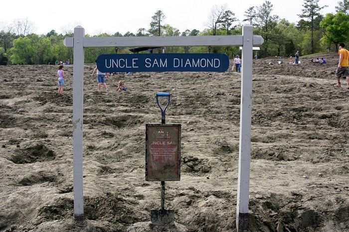 1. The Crater of Diamonds