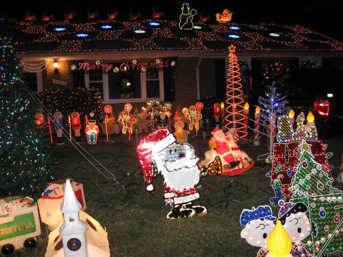 9. I wonder what new yard decoration the (insert your neighbor's last name) family is adding this year?