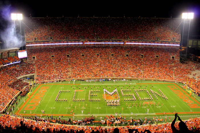 7. Take a road trip to Death Valley to root for the #1 college football team in the country.
