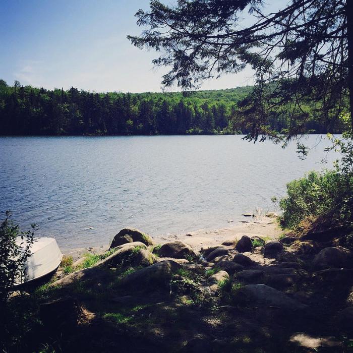 6.  Osmore Pond, New Discovery State Park, Peacham.