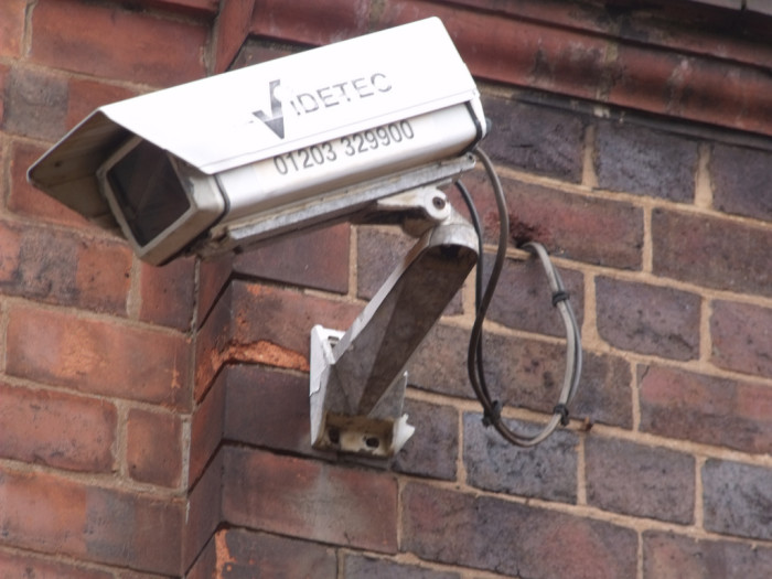 6. You install security lights on your house and garage, but leave both unlocked.