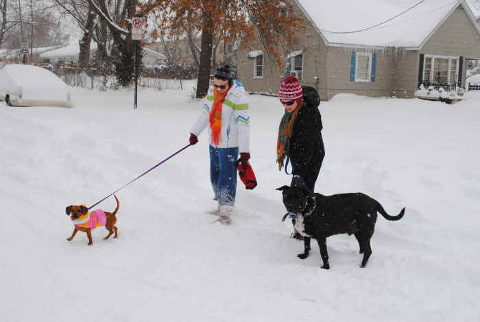 3. Snow days give families a chance to bond.