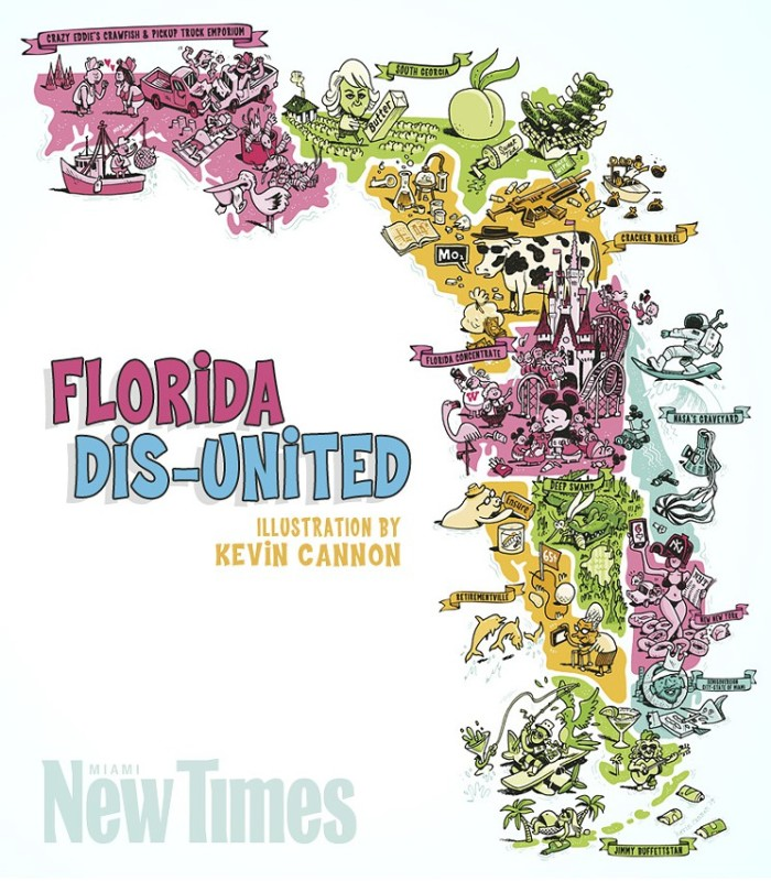 4. This map shows how Florida could really be 10 different states.
