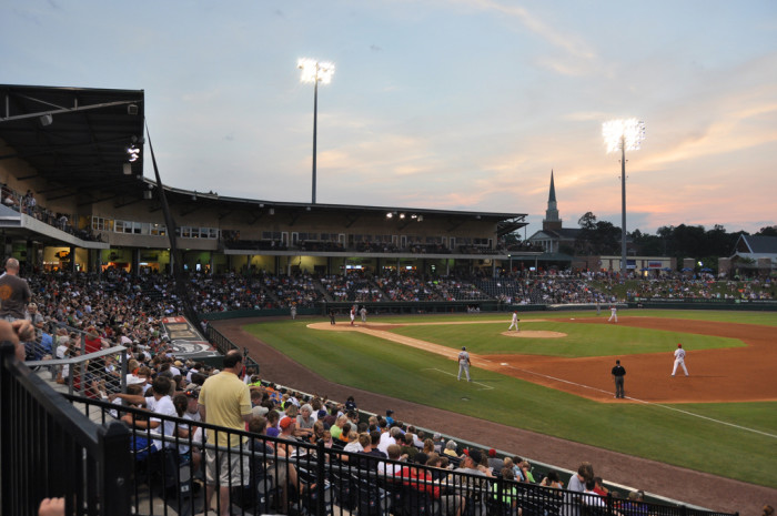 19. Attend a Greenville Drive baseball game.