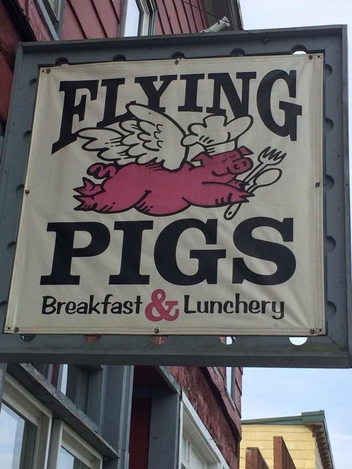 6. Flying Pigs in Thomas