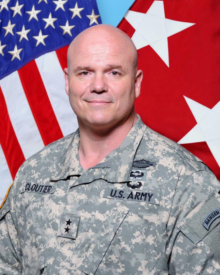 5. Commanding General Roger Cloutier, Fort Jackson