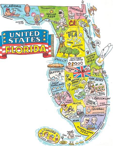 Hilarious Maps Showing What Florida Is Really Like on map alabama, map mississippi, map missouri, fema flood maps florida, map south dakota, compass for florida, map puerto rico, flag for florida, map virginia, map new jersey, brochure for florida, i love florida, map louisiana, license plate for florida, specials for florida, postcard for florida, state bird for florida, weather for florida, map north carolina, postal code for florida,