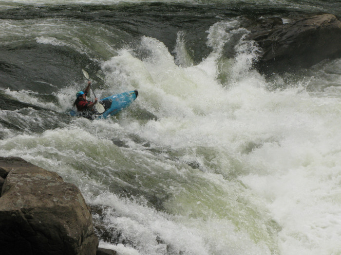 3. Raft or kayak the Gauley River.