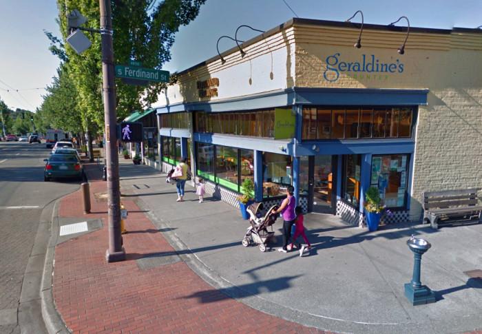 1. Geraldine's Counter, Seattle