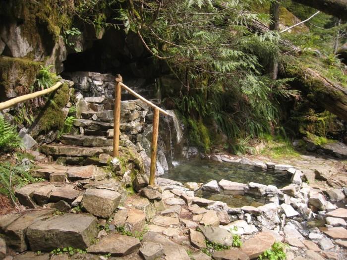 5. Goldmyer Hot Springs