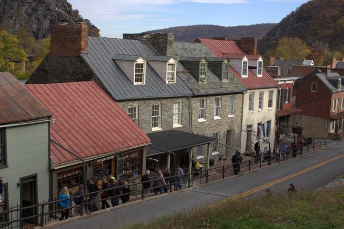 14. Walk through history at Harpers Ferry.