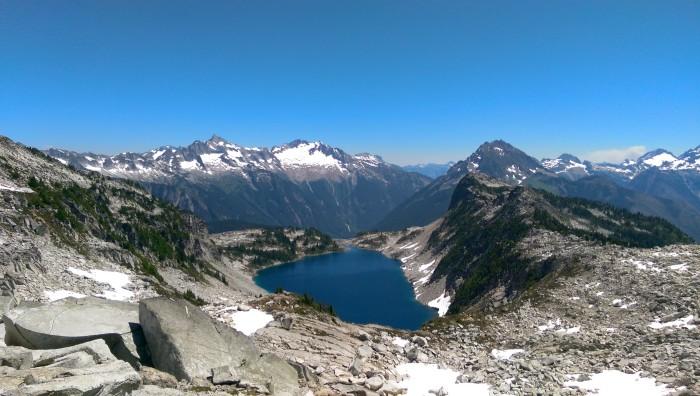 1. Hidden Lake Lookout