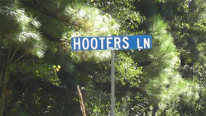 12. Hooters Lane in Cross, South Carolina