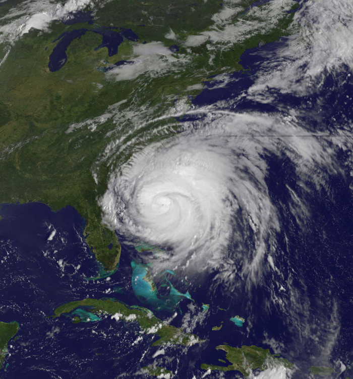 10. HURRICANES. More specifically, hurricanes that are this close to home.