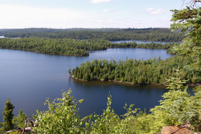 8. The scenery from Gunflint Trail.