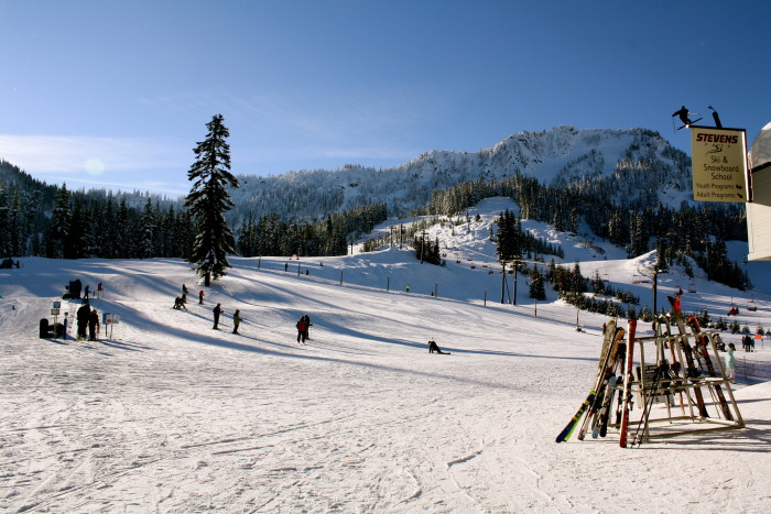 2. Head up to Steven's Pass for an epic weekend full of skiing and/or snowboarding.