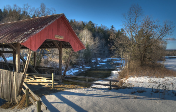 11.	Randall Bridge AKA The Old Burrington – Lyndon, VT.