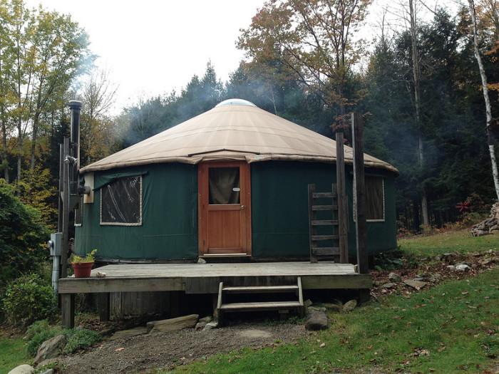 Y – Yurt.