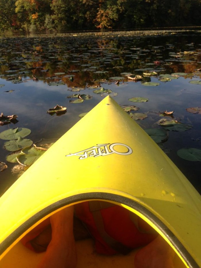 Kayak on Hell's waters.