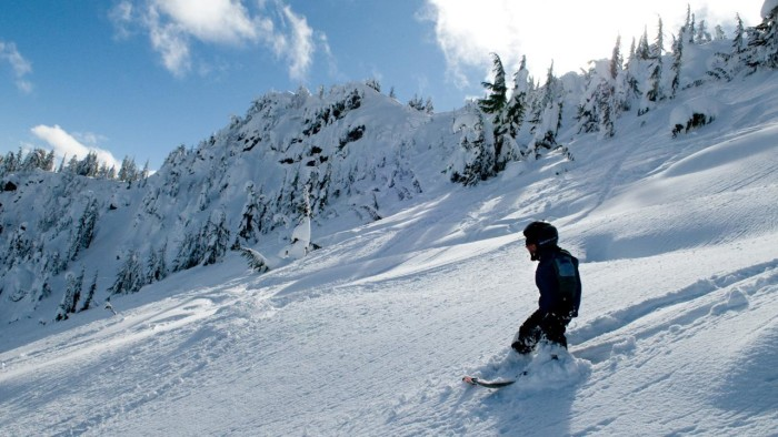 5. Skiing and snowboarding opportunities are endless.