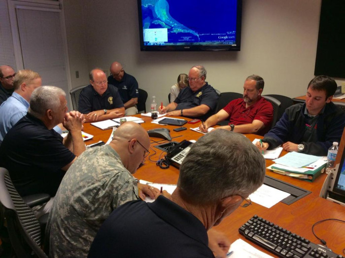 2. Kim Stenson ( at head of table), Director - SC Emergency Management