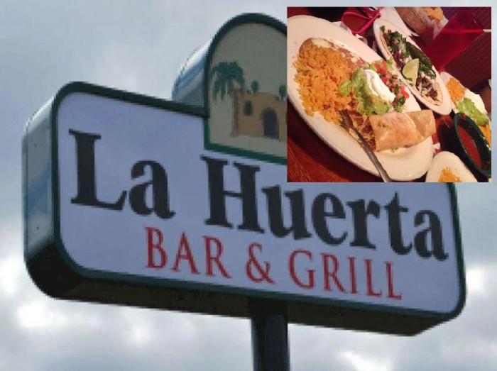 15. La Huerta Mexican Restaurant