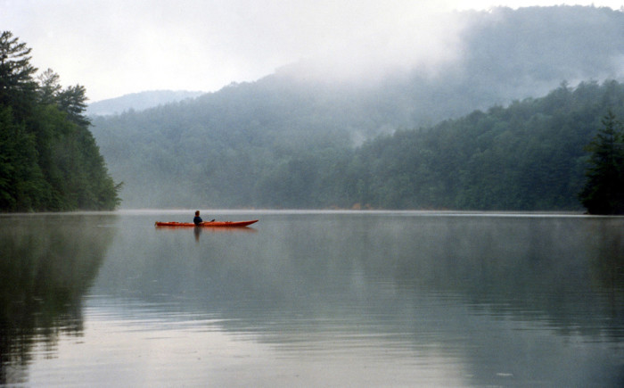 12. Slow down and relax a while on Lake Jocassee in the Upstate.