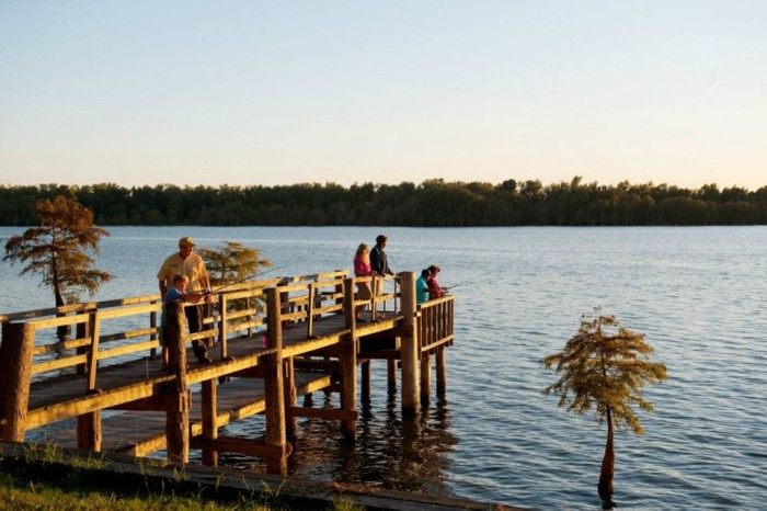 2. Lake Chicot State Park