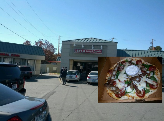 6. Layla's Gyros and Pizzeria