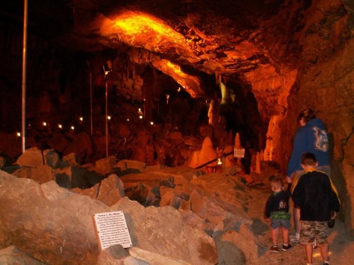 6. Lost World Caverns