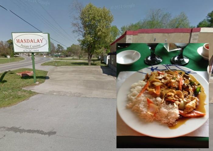 9. Mandalay Asian Cuisine