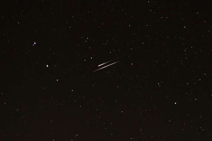 2. Shooting Stars are a lot easier to see without interference from city lights.