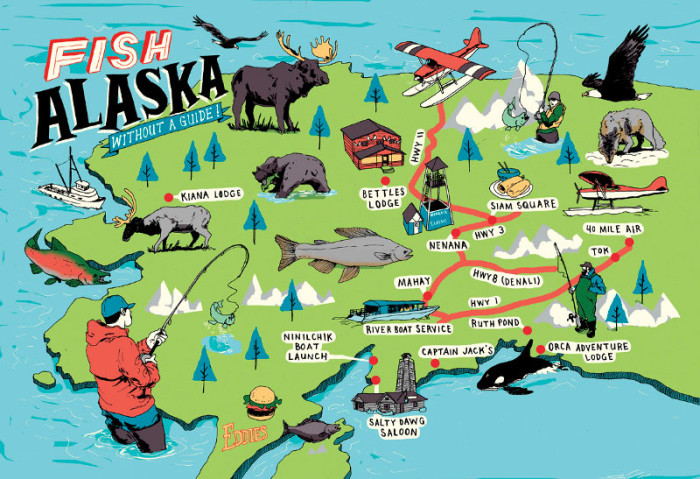 Maps Of Alaska That Hit The Nail On The Head