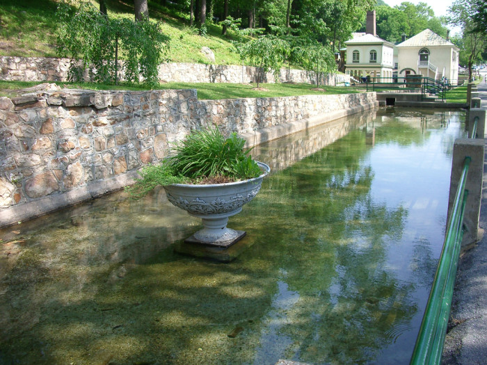 Long before the area was settled by Europeans, the warm mineral springs were popular for their perceived medicinal powers.