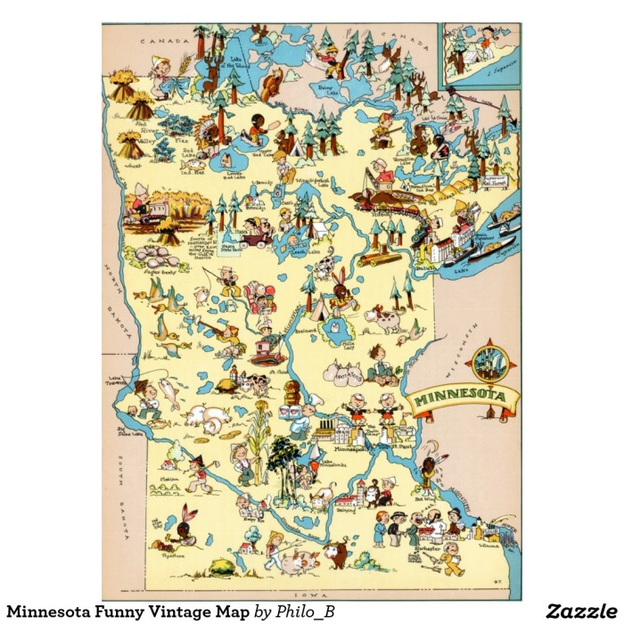 Maps Of Minnesota That Are Just Too Perfect And Hilarious - Maps of minnesota