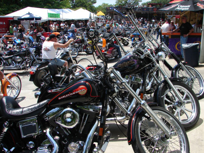 9. Attend Bike Week in Myrtle Beach, even if you don't own a bike.