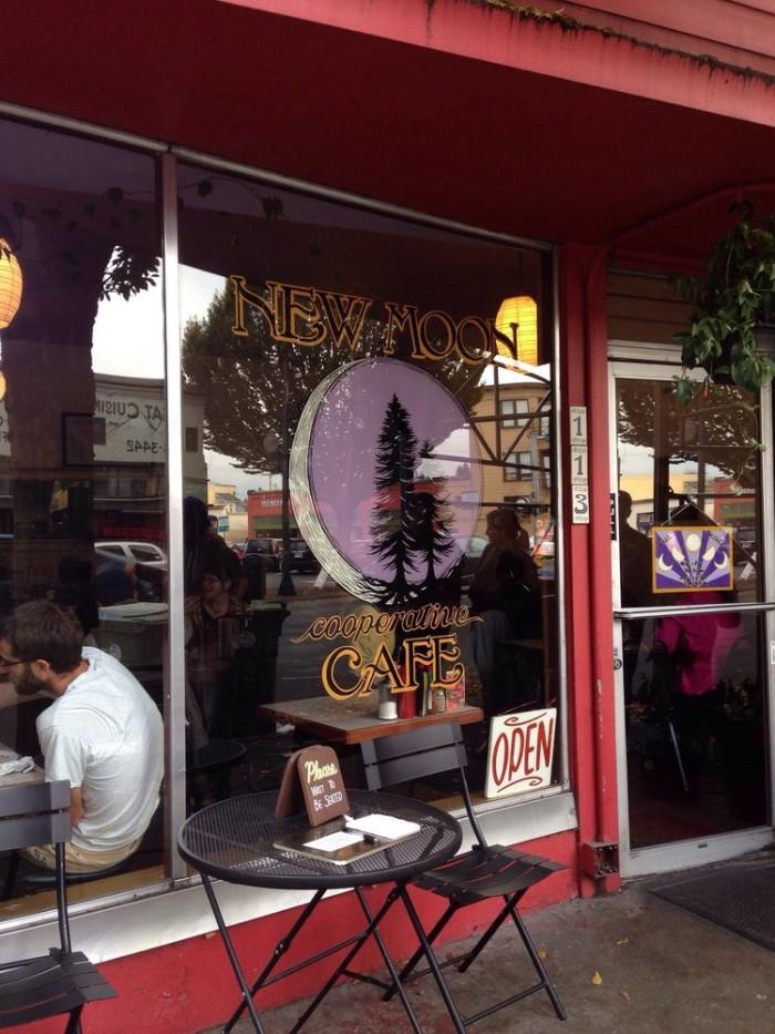 3. New Moon Cafe, Olympia