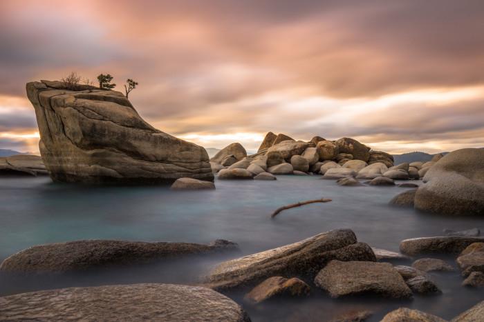 3. Bonsai Rock - Lake Tahoe